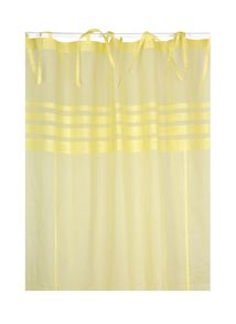 Marinette Saint-Tropez Arc ciel lemon window curtain pair