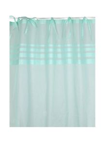 Marinette Saint-Tropez Arc ciel lagon window curtains pair