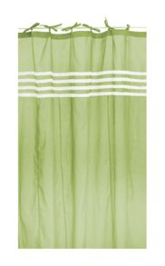 Marinette Saint-Tropez Arc ciel kiwi window curtain pair