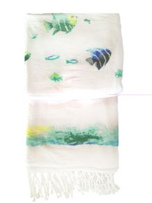 Marinette Saint-Tropez Bahamas Reversible Decorative Fouta