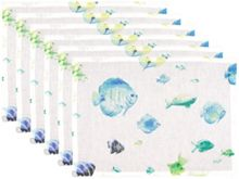 Marinette Saint-Tropez Bahamas lagoon placemat pack of 6