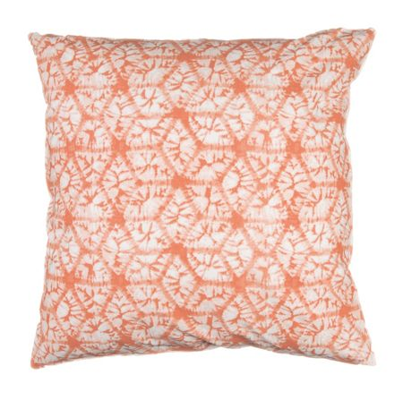 Marinette Saint-Tropez Dipsy Nectarine Reversible Cushion