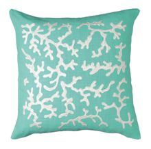 Caraibes Lagoon White Cushion