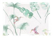 Savana white lagoon placemat pack of 6