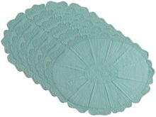 Marinette Saint-Tropez Sunflower lagoon placemat pack of 6