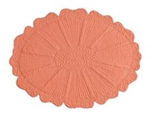 Marinette Saint-Tropez Sunflower nectarine placemat pack of 6