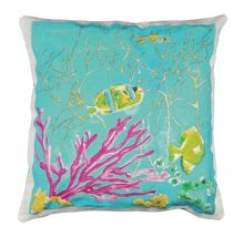 Embroided Marine C Cushion