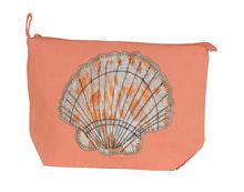 Marinette Saint-Tropez Coral Shell Cosmetic Bag