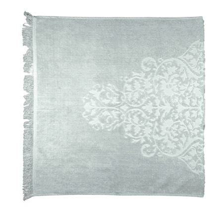 Marinette Saint-Tropez Diane Mid Grey Bath Towel - 100/180cm