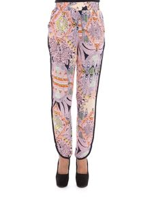 Red Soul Edora printed trousers