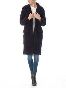 Plain long coat