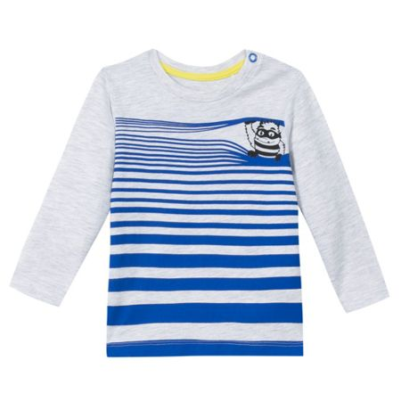Esprit Boys Striped Cotton T-Shirt