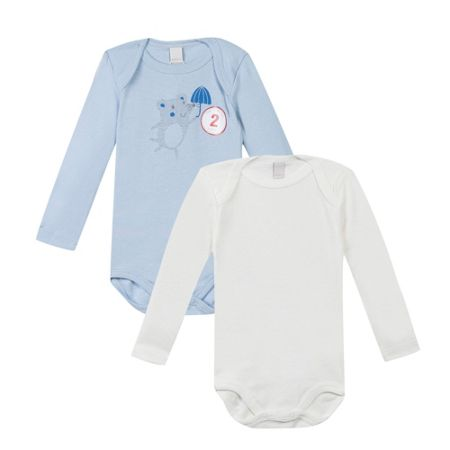 Esprit Set of 2 Cotton Bodysuits