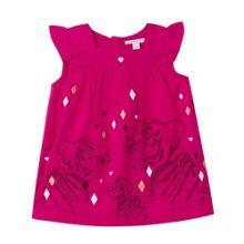 Esprit Girls Leopards Cotton Dress
