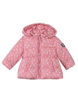 Girls Hooded Duffle Coat