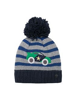 Baby boy knitted hat