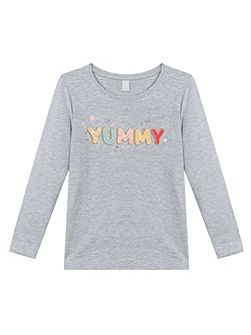 Girls Yummy Cotton T-Shirt