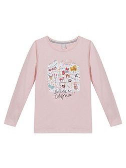 Girls Cotton T-Shirt