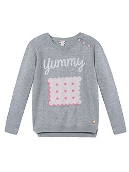 Girls Biscuit Sweatshirt