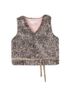 Girls Faux-Fur Gillet