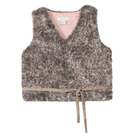 Esprit Girls Faux-Fur Gillet
