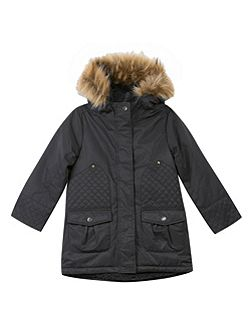 Girls Hooded Parka