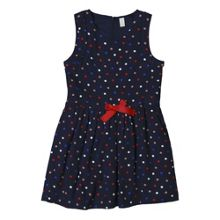 Esprit Girls Multicolour Polka Dot Dress