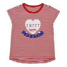 Esprit Girls Striped Short-Sleeve T-shirt