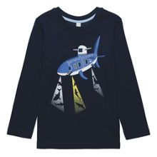 Esprit Boys Shark Motif T-shirt