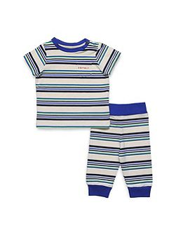 Baby Boys Striped Cotton T-Shirt