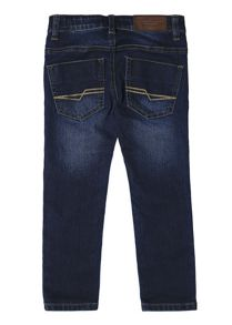 Esprit Boys Creased Slim-Fit Jeans