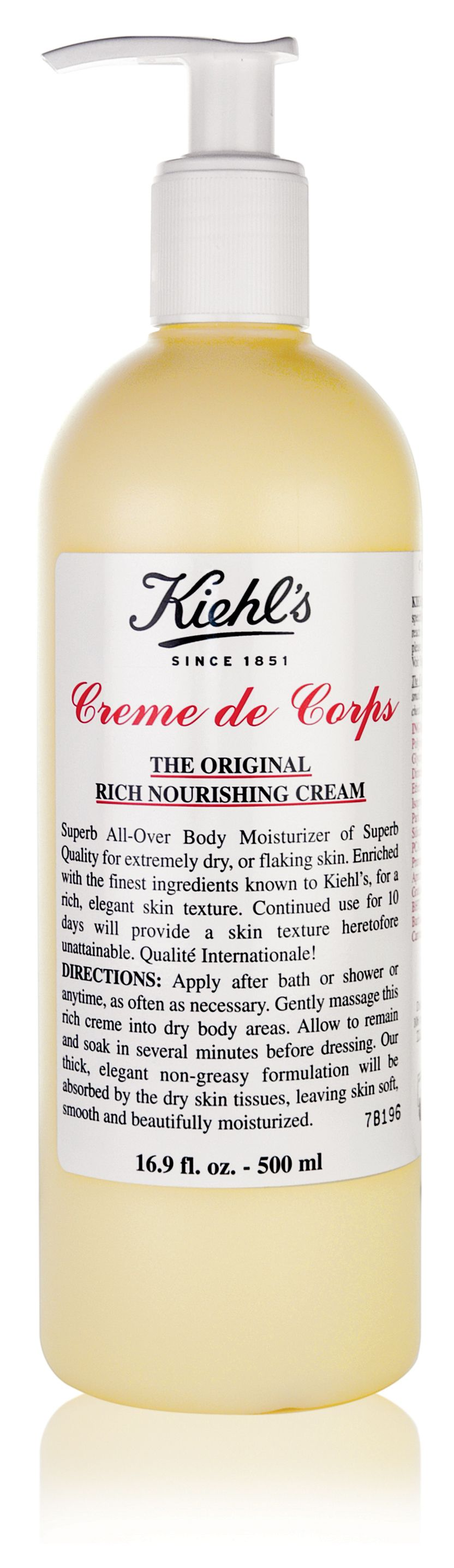 Creme de Corps (with Pump), 500ml