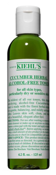 Kiehls Cucumber Herbal Alcohol-Free Toner, 250ml