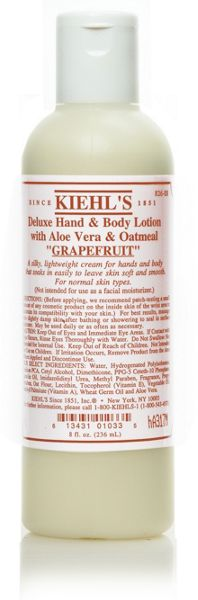 Kiehls Deluxe Hand & Body Lotion, 250ml