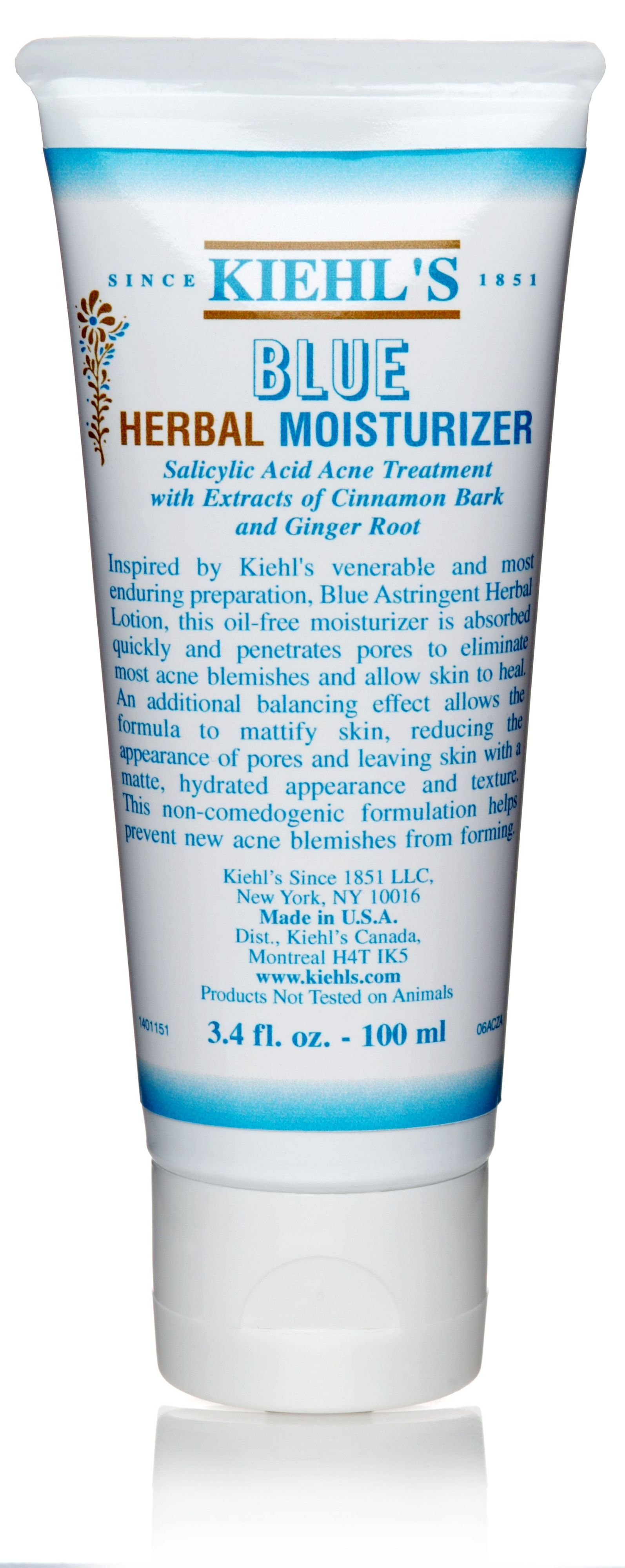 Blue Herbal Moisturiser, 100ml