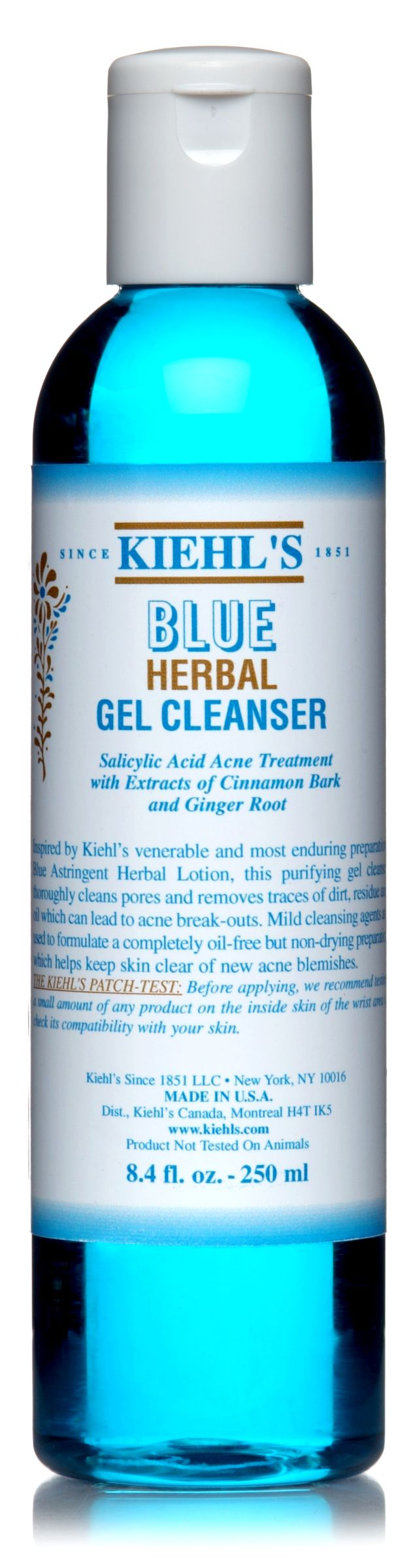 Blue Herbal Gel Cleanser, 250ml