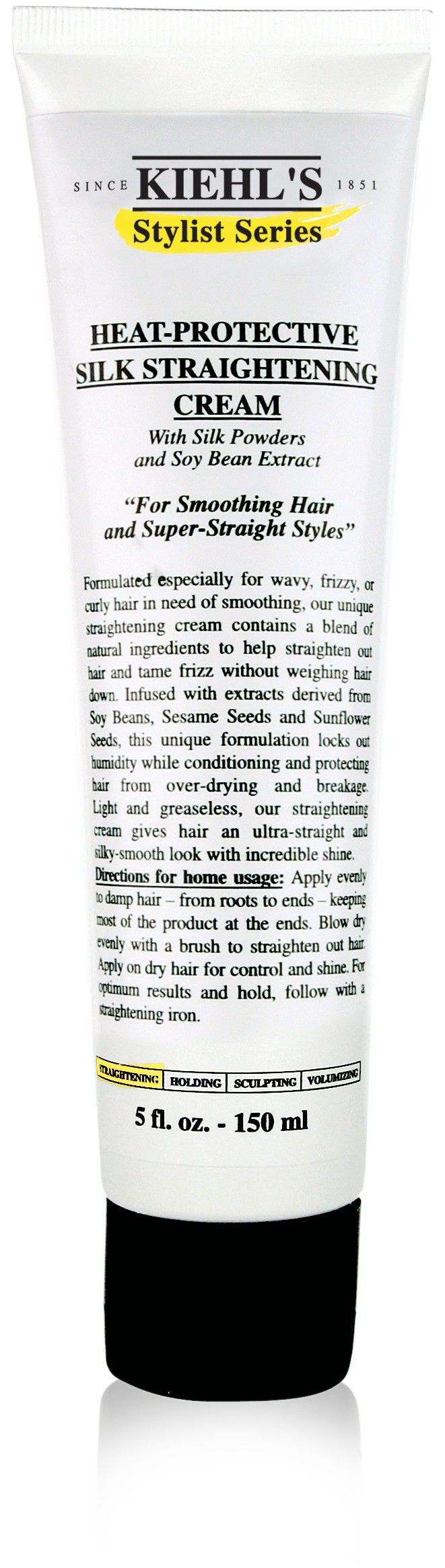 Kiehls HeatProtective Silk Straightening Cream 150ml