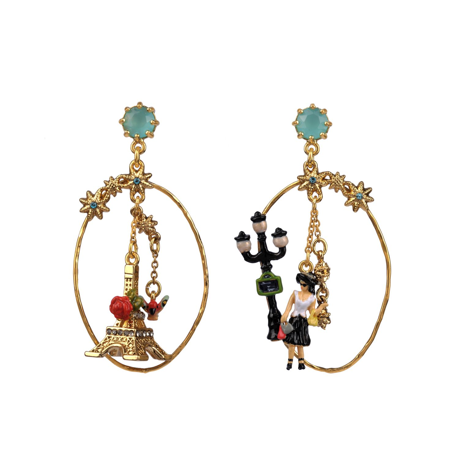 Paris mon amour earrings