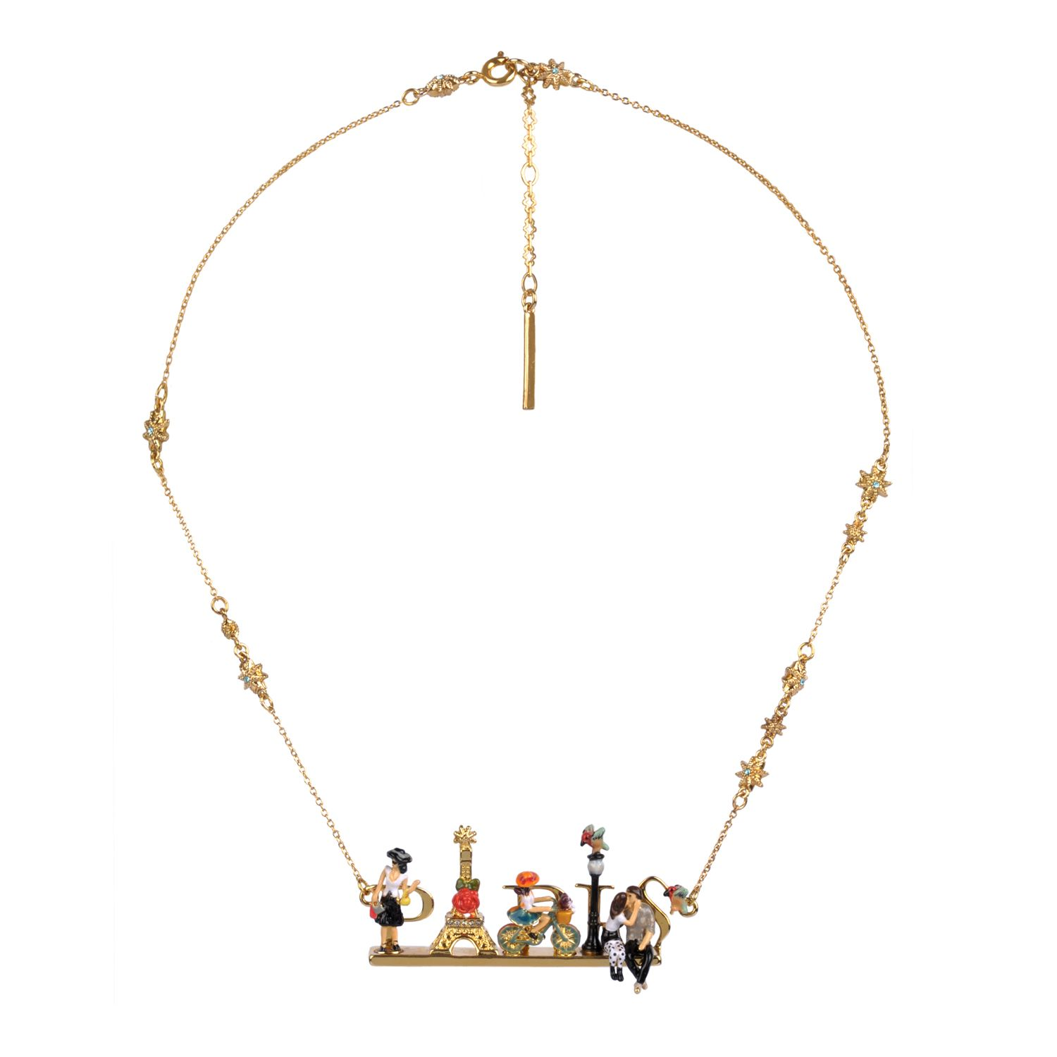 Paris mon amour necklace