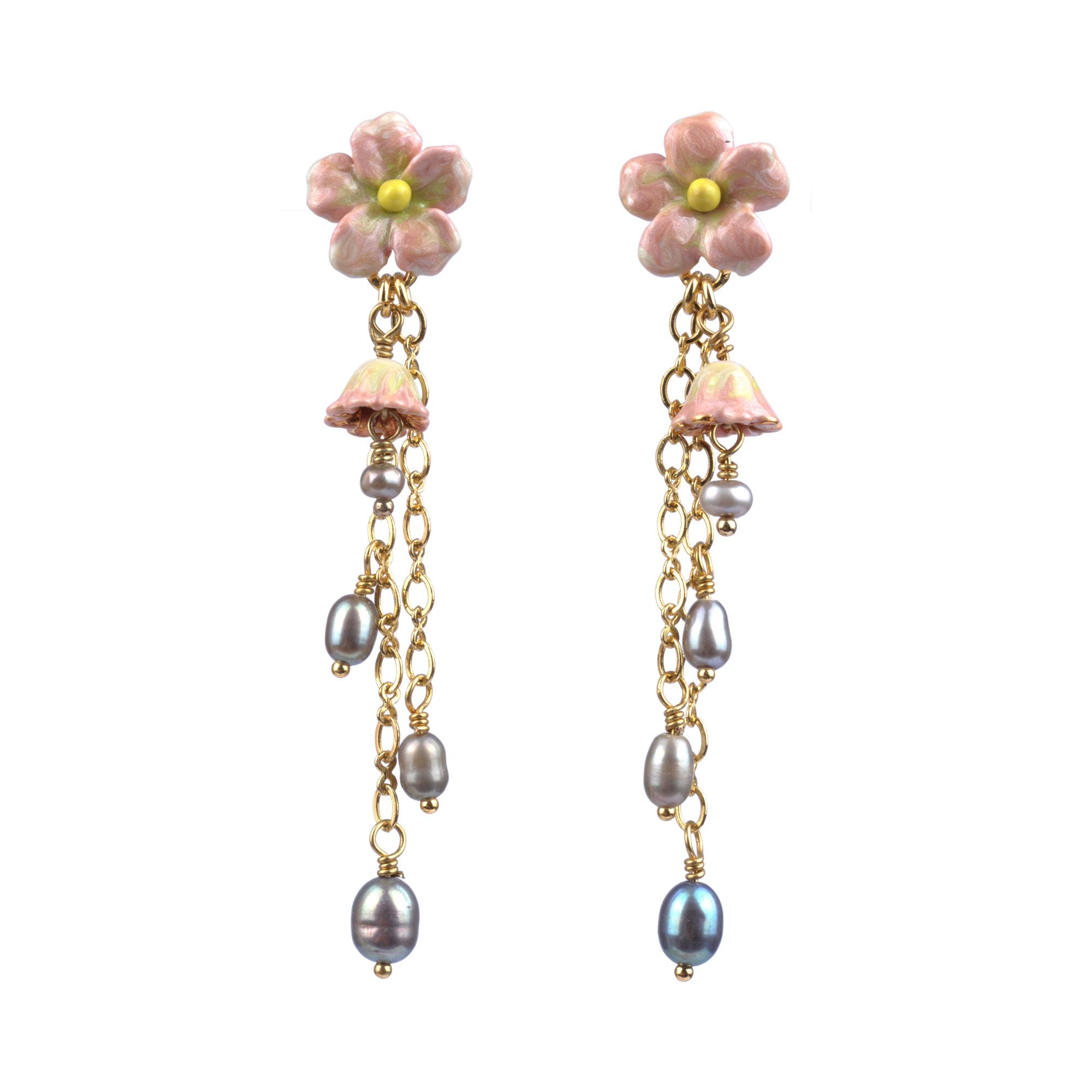 Jardins secrets earrings