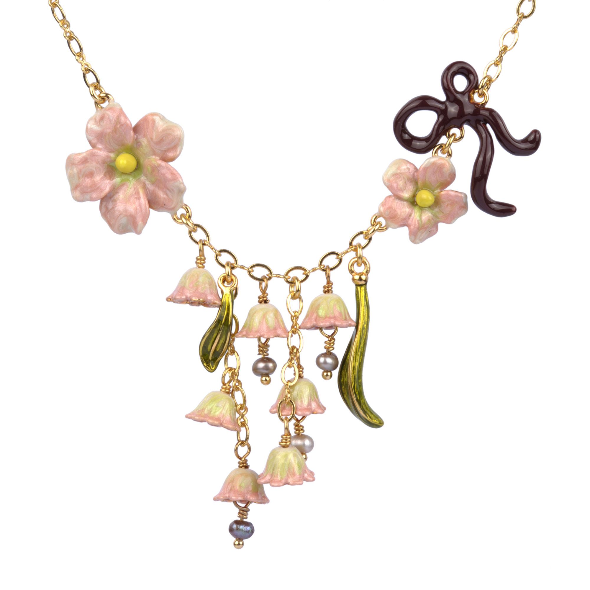Jardins secrets necklace