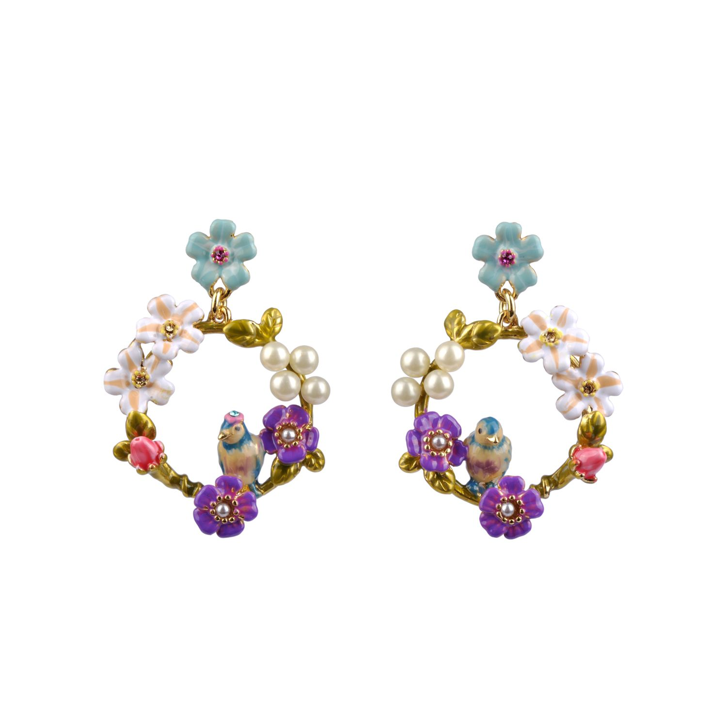 Jardin d amour earrings