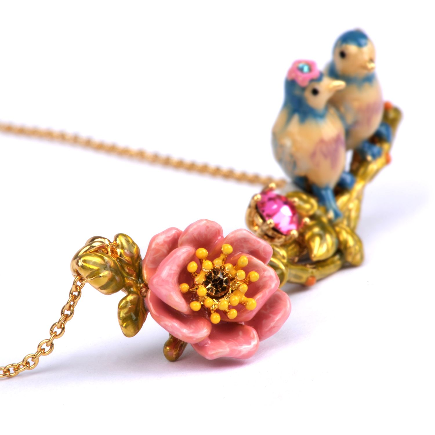 Jardin d amour necklace