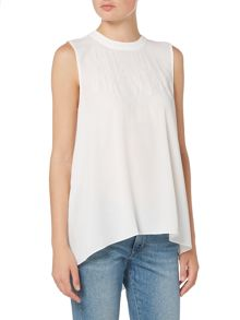 Vince Camuto Lace sleeveless blouse