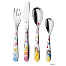 Disney princess 4 pce cutlery set