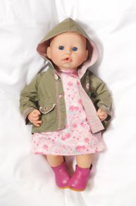 Baby Annabell Deluxe Let`s Go Out Clothing Set