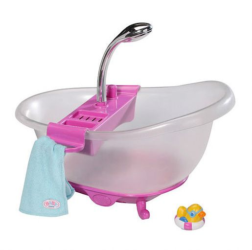Baby Born Interactive Tub & Duck