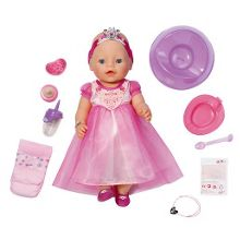 Interactive princess doll