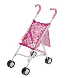 Doll on the go stroller