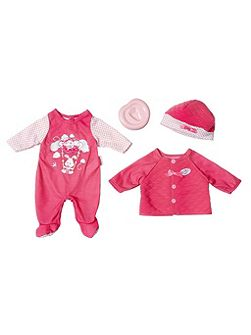 Deluxe Babys First Clothing Set